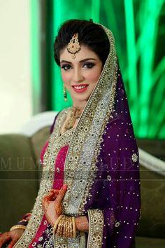 Pakistani bride                                                       … Asian Wedding Dress, Pakistani Wedding Outfits, Asian Bridal, Pakistani Wedding Dresses, Pakistani Dress Design, Bridal Outfits, Indian Dresses, Muslim Women Fashion, Indian Fashion