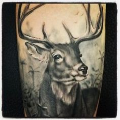 Deer Tattoo hirschen