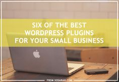 Today I want to share a few Wordpress plugins I've stumbled upon lately that would be super helpful for those of you running your own business. Plugins are easy to install, easy to customize, and a...
