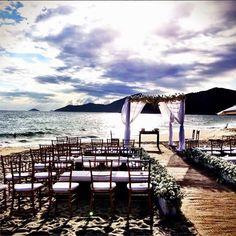 Casamento na praia no Litoral de São Paulo - Tábata e Carlos