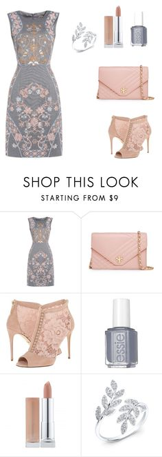 """""""Untitled #9"""" by nuoorh ❤ liked on Polyvore featuring Tory Burch, Dolce&Gabbana and Essie"""