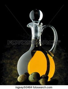 Olive Oil, Oil, Olive, olives, olive oil jar, pure olive oil, food View Large Photo Image