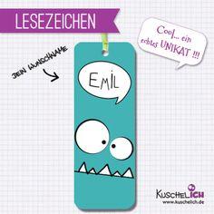 5er Set  Lesezeichen ♥ Gastgeschenk von Kuschelich auf DaWanda.com