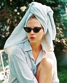 The Bath Towel Trend That's Making Me Rethink Hats