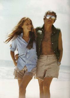 A young Ricky +Ralph Lauren, looking effortlessly chic.