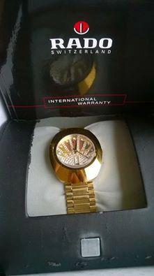 Limited Edition Mens Rado Watch by MiBellaDama on Etsy, $700.00