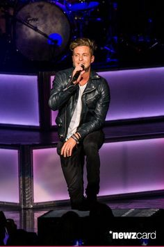 Ryan Tedder of One Republic performs at DTE Energy Center on June 21, 2014 in Clarkston, Michigan.  (Photo by Scott Legato/Getty Images)