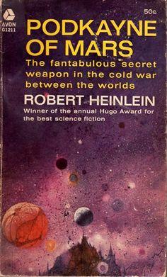 PAUL LEHR - art for Podkayne of Mars by Robert A. Heinlein - 1964 Avon paperback
