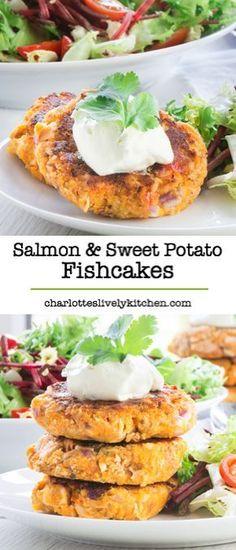 family-friendly salmon and sweet potato fishcakes. Perfect for a quic. Delicious, family-friendly salmon and sweet potato fishcakes. Perfect for a quic.,Delicious, family-friendly salmon and sweet potato fishcakes. Perfect for a quic. Pescatarian Recipes, Vegetarian Recipes, Healthy Recipes, Pescatarian Diet, Diabetic Recipes, Baby Food Recipes, Cooking Recipes, Water Recipes, Potato Recipes