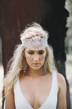 Grace Loves Lace Deep Forest Bridal Inspiration | Hair News Network ~ HNN ~ LIKE US ON FACEBOOK! https://www.facebook.com/pages/Hair-News-Network/131179072930
