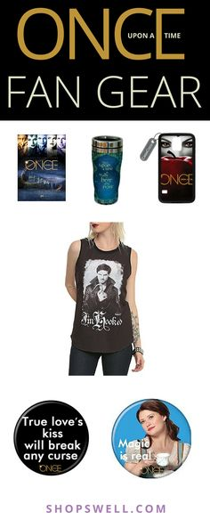 Once Upon a Time gift ideas featuring the villains and heroes from Storybrooke.