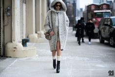 Hanneli Mustaparta | New York City #streetstyle #style #fashion