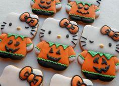 Pumpkin Tummy Hello Kitty   Cookie Connection