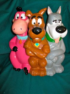 1998 WARNER BROTHERS SCOOBY DOO, ASTRO, DINO COOKIE JAR
