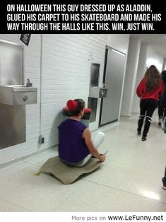 Funny Pictures / Funny Quotes / Funny Jokes – Photos, Images, Pics / Page 2 (aladdin,costume,halloween)