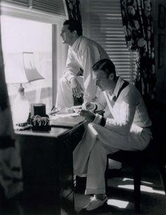 Cary Grant and Randolph Scott