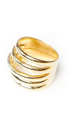 Gold Ring by Marcia Moran   bling, bling.