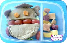 Vegan Lunch Box ideas.