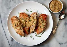Piept de pui cu sos Dijon - www.Foodstory.ro