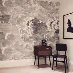 Cole & Son Fornasetti Nuvolette Clouds wallpaper