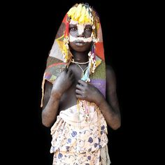 shy african surma kid from lower omo valley / ethiopia by abgefahren2004, via Flickr
