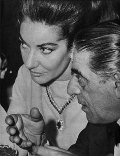 Maria Callas and Aristotle Onassis. Maria Callas, Classical Opera, Classical Music, Love Me Like, Big Love, Opera News, True Romance, Famous Couples, Opera Singers