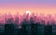 Check out this awesome collection of Pixel Art wallpapers, with 30 Pixel Art wallpaper pictures for your desktop, phone or tablet. Samsung Wallpapers, Wallpaper Für Desktop, Wallpaper Notebook, Aesthetic Desktop Wallpaper, Macbook Wallpaper, City Wallpaper, Scenery Wallpaper, Wallpaper Pictures, Computer Wallpaper