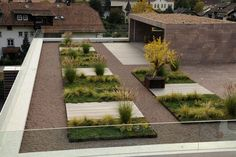 roof garden w seating platforms