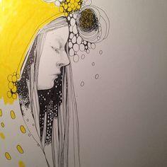 Fortsättning följer #idasondell #illustration #instaart #art #marker #ink