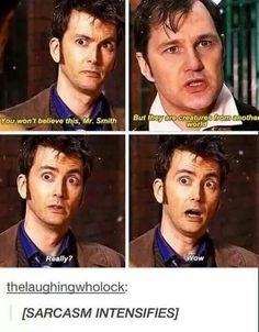 I don't even watch doctor who but I love David tennant so much Fandoms Unite, Serie Doctor, I Like Him, My Love, Doctor Who Funny, Doctor Who Humor, Supernatural, 10th Doctor, Twelfth Doctor