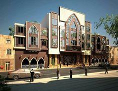 Morrocan Architecture, Mosque Architecture, Library Architecture, Architecture Concept Drawings, Modern Architecture House, Classical Architecture, Residential Architecture, Modern Villa Design, Classic House Design