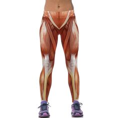097410f636cca Digital Printed Fitness Leggings - Anatomy. Yoga LeggingsLeggings Are Not  PantsWomen's ...