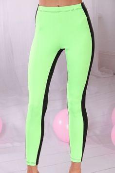 Neon Blue Green UV Glow Swirl Leggings | leggings!!! | Pinterest ...