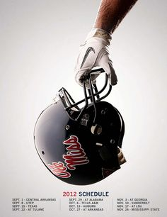 Ole Miss Football~I'll be there!