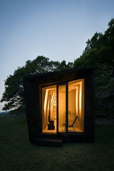 Arthur's Cave,© Miller Kendrick Architects