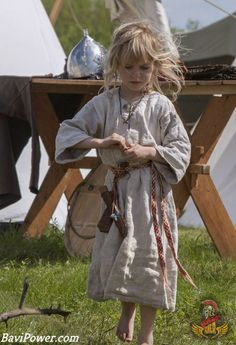No sweet childhood like us today, the Viking children had to learn skills for survival since they were only 10 years old.
