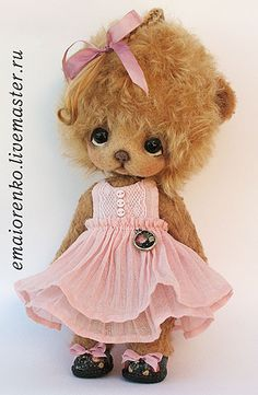 Pretty in pink bear