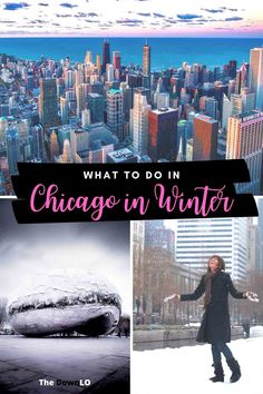 What to do in Chicago in Winter. If you're looking for things to do in Chicago for a winter weekend, we have plenty of cold weather free and unique fun downtown in the Windy City from what to do in Chicago during the holidays to beautiful places to ice skate, shop at Water Tower, food, and photography for Lake Michigan. Put it on your bucket lists -- the best cheap, local, and solo recommendations with kids, a family, or couples. #chicago #winter #travel #trips #holidays Usa Travel Guide, Travel Usa, Travel Guides, Travel Tips, Travel Info, Travel Advice, Winter Destinations, Travel Destinations, Chicago Winter