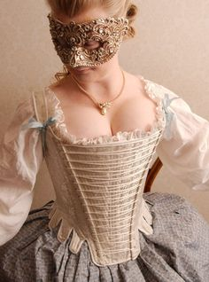 Ida's 18th century stays