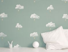 painted walls(clouds)