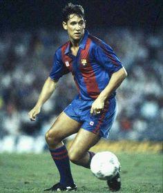 Gary Lineker of Barcelona in 1988.