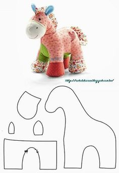 Adorable DIY Memory Bears Pattern with Instructions Animal Sewing Patterns, Sewing Patterns Free, Doll Patterns, Baby Sewing Projects, Sewing Projects For Beginners, Sewing Crafts, Sewing Stuffed Animals, Stuffed Animal Patterns, Horse Pattern