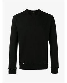 VALENTINO Rockstud Cotton Sweatshirt