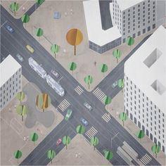 Riqualificazione urbana di Corso Sardegna_Piazza Giusti_2016 | Genova