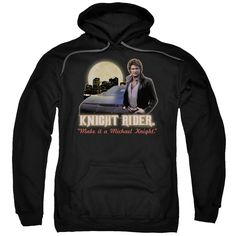 """Checkout our #LicensedGear products FREE SHIPPING + 10% OFF Coupon Code """"Official"""" Knight Rider / Full Moon-adult Pull-over Hoodie - Knight Rider / Full Moon-adult Pull-over Hoodie - Price: $49.99. Buy now at https://officiallylicensedgear.com/knight-rider-full-moon-adult-pull-over-hoodie"""