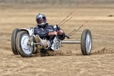 Bolton Le Sands Summer Meet 2013 - Kite Buggy