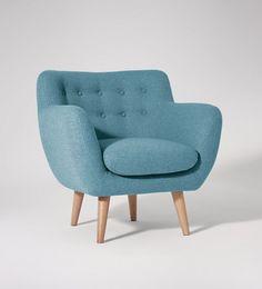Mimi, Armchair, Powder Blue