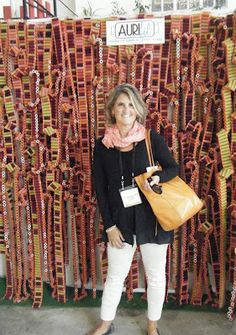 likes @Sandra Reford's report about Carrefour Européen du Patchwork / European Patchwork Meeting …and looooving her pic with the #Aurifil Installation Artwork by Damss Fiberart find out more on http://sandrasstudio.blogspot.it/