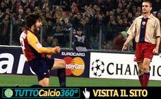Roma VS Barcellona | Tris dei giallorossi all'Olimpico (26 Febbraio 2002)