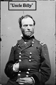 William Tecumseh Sherman   Born: February 8th, 1820  Died: February 14th, 1891 (age 71)  Service/Branch: United States Army, Union Army  Years of Service: 1840-53 (USA), 1861-84 (UN)